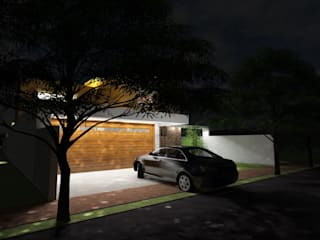 Vivienda JG: Casas de estilo  por Gastón Blanco Arquitecto,Moderno