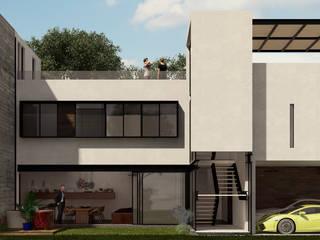Casa V:  de estilo  por  STVX Colectivo de Diseño
