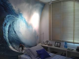 Phòng ngủ theo Adriana Baccari Projetos de Interiores,