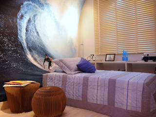 Modern style bedroom by Adriana Baccari Projetos de Interiores Modern