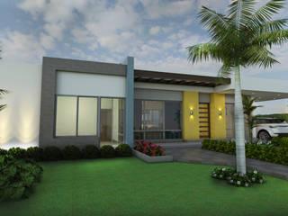 Casa Campestre Villa Celeste Casas modernas de Arquitecto Pablo Restrepo Moderno