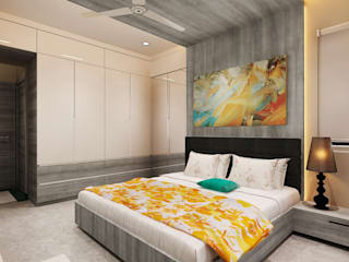 Sons Bedroom:  Bedroom by Neelanjan Gupto Design Co