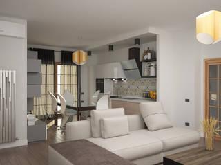 Interior design Soggiorno moderno di Teresa Lamberti Architetto Moderno