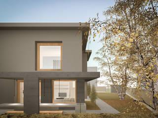138_Ristrutturazione abitazione singola: Terrazza in stile  di MIDE architetti