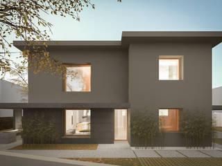 138_Ristrutturazione abitazione singola: Giardino d'inverno in stile  di MIDE architetti