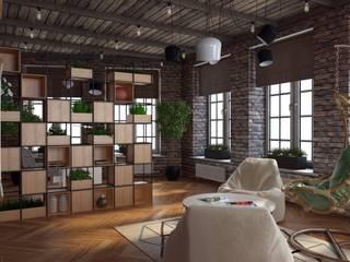 House in Islavskoe by Anastasia Yakovleva design studio Industrial