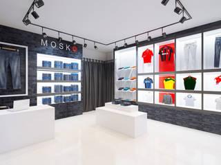 Mosco Jeans Store by Anastasia Yakovleva design studio Industrial