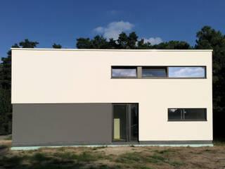 house SS-K Minimalist houses by Niko Wauters architecten bvba Minimalist
