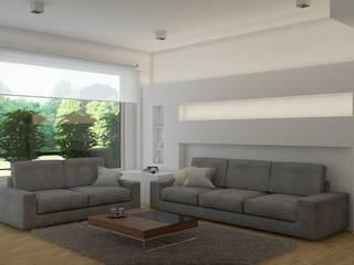 Appartamento, Varese - work in progress: Soggiorno in stile  di Silvana Barbato, StudioAtelier