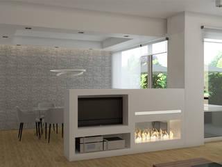 Appartamento, Varese - work in progress: Sala da pranzo in stile  di Silvana Barbato, StudioAtelier