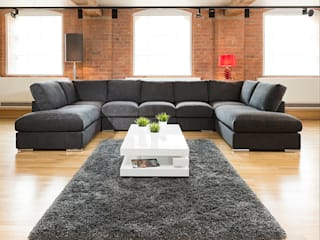 Super Size Cinema Sofas de Quatropi ltd Moderno