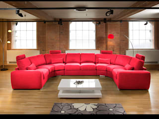 Massive Modern High Quality U Shape Sofa / Corner Group Red 25: modern  by Quatropi ltd, Modern