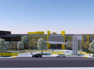 Fachada Frontal:   por Nimbus | Arquitetura