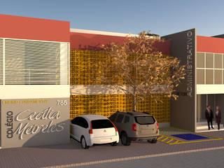 COLÉGIO CECÍLIA MEIRELES (parceria com Hilda Leite & Arquitetos Associados) por Nimbus | Arquitetura Moderno