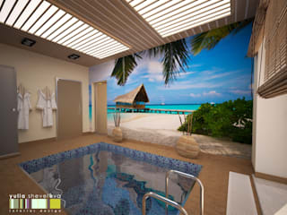 Eclectic style pool by Мастерская интерьера Юлии Шевелевой Eclectic