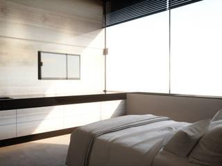 Smooth Warmth Minimalistische slaapkamers van Deedemmers Minimalistisch