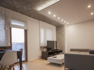 FLAT 2 Eklektyczny salon od Luxon Modern Design Łukasz Szadujko Eklektyczny