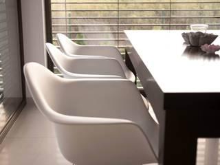 HOUSE 3 Eklektyczna jadalnia od Luxon Modern Design Łukasz Szadujko Eklektyczny