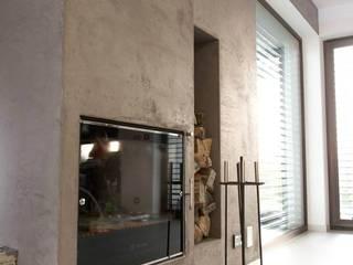 HOUSE 3 Eklektyczny salon od Luxon Modern Design Łukasz Szadujko Eklektyczny
