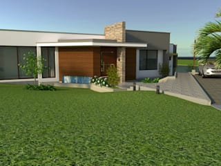 Casa de Campo el Lago Casas modernas de Arquitecto Pablo Restrepo Moderno