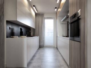 FLAT 3 Eklektyczna kuchnia od Luxon Modern Design Łukasz Szadujko Eklektyczny