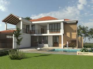 Casa Campestre Horizonte Casas de estilo clásico de Arquitecto Pablo Restrepo Clásico