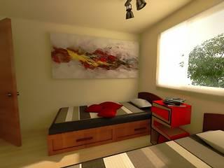 Dormitorios de estilo ecléctico por homify