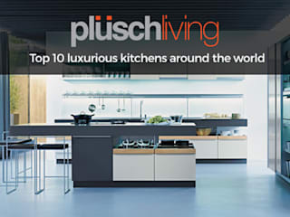 Kitchen Design Ideas & Pictures at Plusch Living:   by Plusch Living