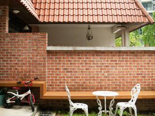 Vườn phong cách châu Á bởi Quen Architects Châu Á
