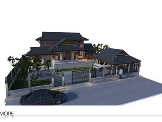 House@Muak lek ,Saraburi ,Thailand โดย Morestudio