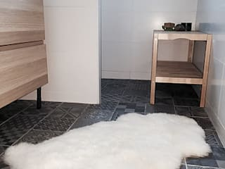 Salle de bain, pleine de charme Salle de bain moderne par Sacha Goutorbe | Architecte d'intérieur Moderne
