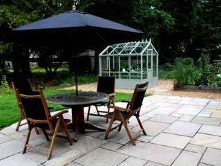 Garden patios projects in Edinburgh Modern garden by Colinton Gardening Services - garden landscaping for Edinburgh Modern