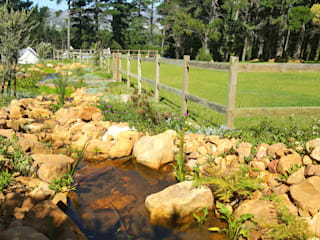 Rustic style garden by Greenacres Cape landscaping Rustic