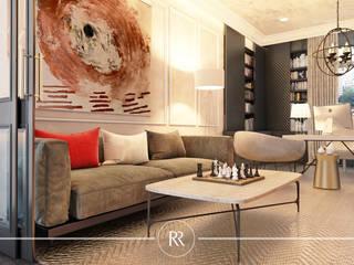 Prune Chocolat: Рабочие кабинеты в . Автор – ROSKO Family Design