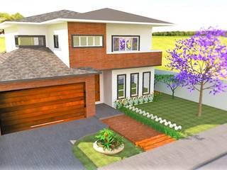 Projeto Residencial Casas clássicas por Gabriela Sgarbossa - Estúdio de Arquitetura Clássico