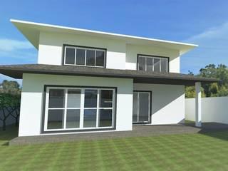 Klasyczne domy od Gabriela Sgarbossa - Estúdio de Arquitetura Klasyczny