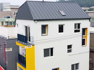 마음담음건축 프로젝트 모던스타일 주택 by 마음담은 건축 모던