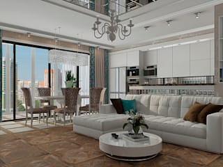 Salon classique par EEDS дизайн студия Евгении Ермолаевой Classique