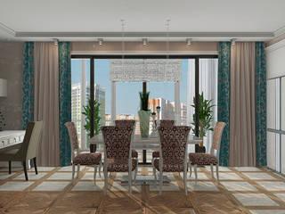 Classic style dining room by EEDS дизайн студия Евгении Ермолаевой Classic