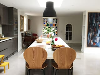Kitchen extension:  Kitchen by O2i Design Consultants