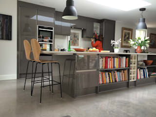 Kitchen extension by O2i Design Consultants Minimalist
