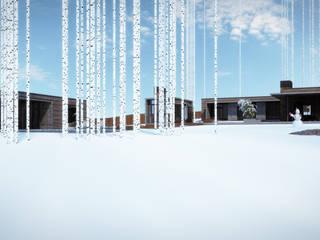 Студия дизайна интерьера в Москве 'Юдин и Новиков' Modern Balkon, Veranda & Teras