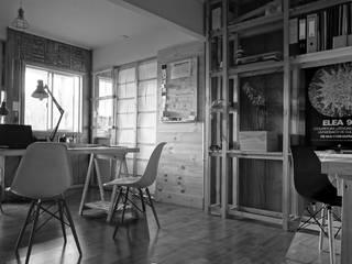 Oficina Taller Independiente Arquitectura & Diseño Oficinas y bibliotecas de estilo moderno de Taller Independiente - Arquitectura & Diseño Moderno