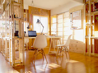 Taller Independiente - Arquitectura & Diseño Modern study/office Wood Wood effect