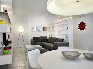 Студия дизайна интерьера в Москве 'Юдин и Новиков' Modern Oturma Odası