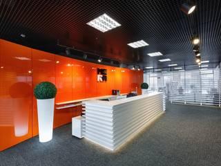 Modern Çalışma Odası Студия дизайна интерьера в Москве 'Юдин и Новиков' Modern