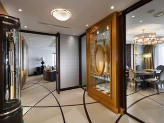 Студия дизайна интерьера в Москве 'Юдин и Новиков' Modern Corridor, Hallway and Staircase