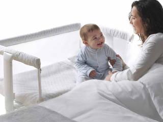 Berço com rodas de dia, na cama da mãe á noite...!!:   por o quarto dos miúdos