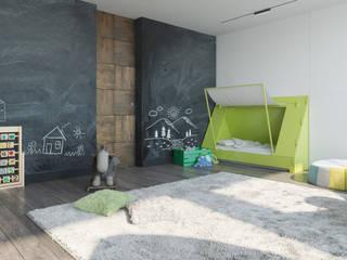 ДОМ СОЛНЦА Cuartos infantiles de estilo minimalista