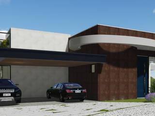 Projeto Arquitetura Residencial PA Casas modernas por arquiteto bignotto Moderno